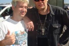 DJ Squeek with Barney Simon
